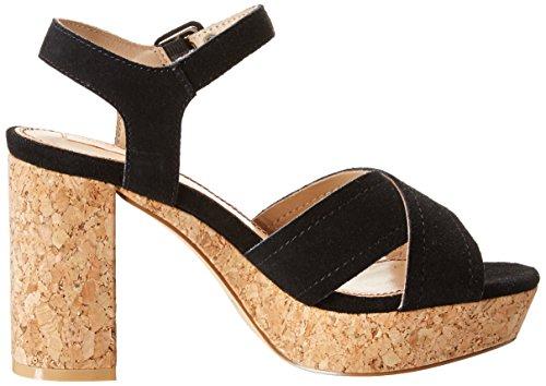 999 Donna Pepe Sandali Noir Nero Grace Jeans Black WWFSawn