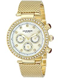 Akribos XXIV AK682YG - Reloj para mujeres