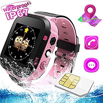 KTaoism Kids Watch/Smartwatch Que Puede Hacer Llamadas telefónicas ...