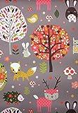 Alkor 380-0056 Fensterfolie, selbstklebend, vinyl, Wildwood, 45 cm x 2 m, 380-0108