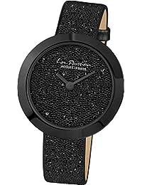 Jacques Lemans Damen-Armbanduhr La Passion Analog Quarz Leder LP-124D
