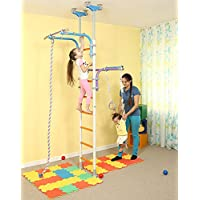 Kids Jeux Play Set pour sol   plafond Famille intérieur Formation Gym Sport  Set avec accessoires Équipement   Grimpeur a6dda1f4ce6