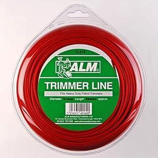 Trimmer Line: 3,0mm 60m, um alle macht von schwer Pflicht Benzin Trimmer (36-39cc) enthält 60m rot Alm: Universal