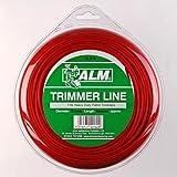 Trimmer Line: 3,0mm 60m, um alle macht von schwer Pflicht Benzin Trimmer (36–39cc) enthält 60m rot Alm: Universal