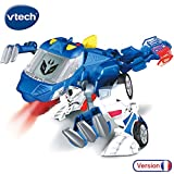 VTech- Switch & GO Dinos-OXOR Voiture/Dinosaure, 80-195005, Multicolore