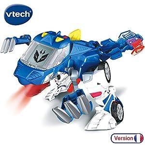 VTech Switch & Go Dinos-oxor Coche/Dinosaurio, 80-195005