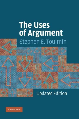 The Uses of Argument 2nd Edition Paperback por Toulmin