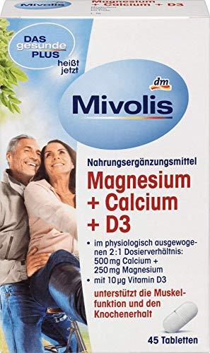DAS gesunde PLUS Magnesium + Calcium + D3 Tabletten (45St)