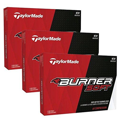 Lot de balles de golf Burner Soft par TaylorMade, Homme,...