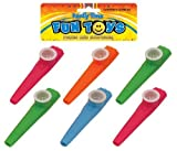 Best Kazoos - Bag Of 6 Kazoos 11cm (Assorted Colours) Review