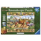 Ravensburger - Puzzle Dinosaurios de 100 piezas