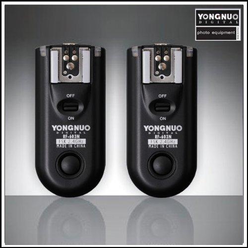 Yongnuo RF-603 N1 Funkfernauslöser Blitzauslöser für Nikon z.B D800E D800 D700 -