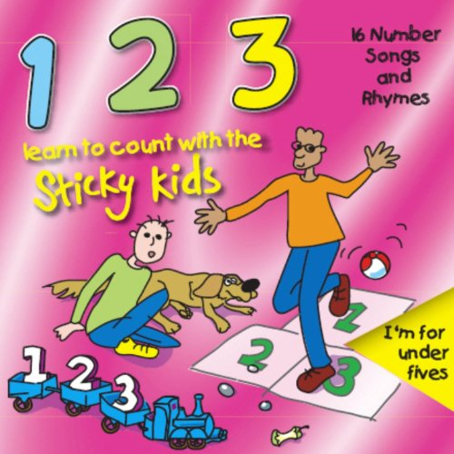 123: Learn to Count with the Sticky Kids