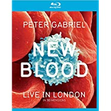 Peter Gabriel - New Blood/Live in London