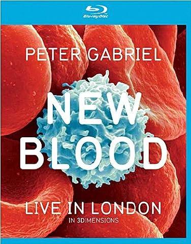 Peter Gabriel - New Blood / Live in London [3D Blu-ray] (Beste 3d Blue Ray Filme)