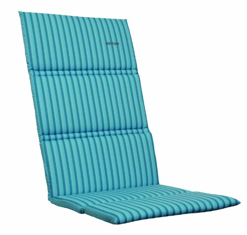 Kettler-0309016-8711-Auflage-fr-Relaxsessel-170-x-50-x-3-cm-fr-textil-bezogene-Aluminium-Gartenmbel-hellblau-gestreift