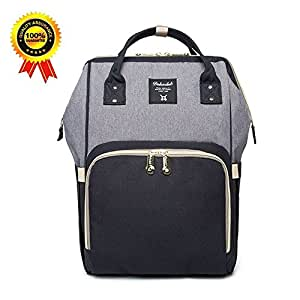 DokoClub Large Baby Diaper Backpack Mommy Changing Bag Mummy Nappy ... c81ade4f0b3a2