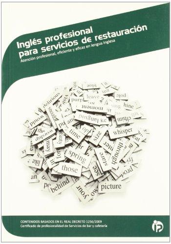Inglés profesional para servicios de restauración (Hostelería y turismo)
