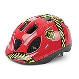 Casco de Ciclismo Antimosquitos para Niño Color Rojo DANGER para Bicicleta 3622
