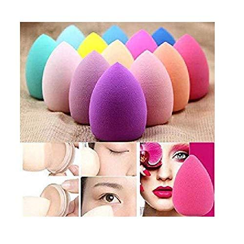 Comfort Makeup Beauty Foundation Cream Powder Liquid Blender Spong Puff - Set of 4