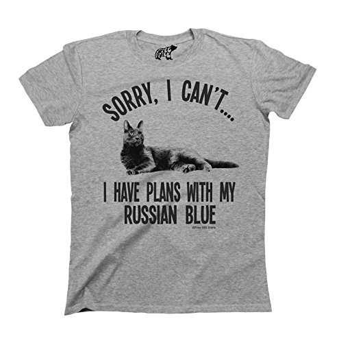 sorry-i-cant-i-have-plans-with-my-russian-blue-chat-cat-breed-t-shirt-hommes-damas-unisex