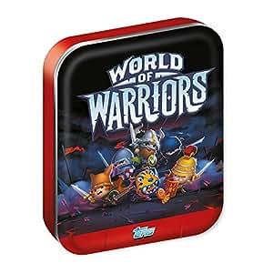 Topps World Of Warriors mondiale de guerriers carte négociation étain