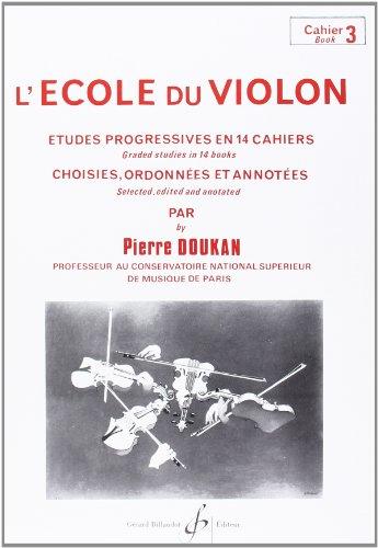 L'Ecole du Violon Volume 3