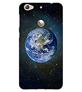 ColourCraft Earth Design Back Case Cover for LeEco Le 1S