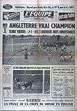 EQUIPE (L') [No 6326] du 01/08/1966 - athletisme record pour drufin 18m06 et 39'4...