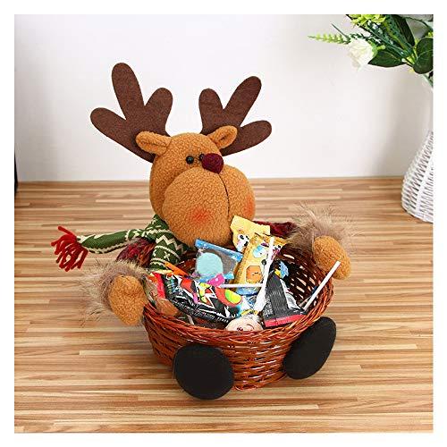99AMZ Cesta Almacenaje Navidad Caramelos Decoración