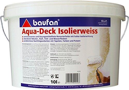 Baufan Aqua-Deck Isolierweiss 10l (Aqua Deck)