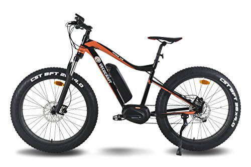 VECOCRAFT Ares M9 Elektrofahrrad, Elektro Mountainbike, E-MTB, E-Bike, E-Mountainbike, 48V 350W, Bafang Max-Mid-Motor