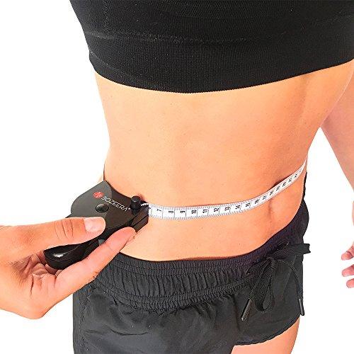 [PLICÓMETRO Y CINTA MÉTRICA ANATÓMICA] - Medidor de grasa corporal y cinta corporal - Software GRATUITO, vídeo tutorial y manual en español -BOZEERA©-de medición del porcentaje de grasa corporal
