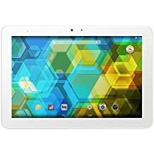 BQ Edison 3 - Tablet de 10.1 pulgadas (WiFi 802.11 a/b/g/n Bluetooth 4.0, GPS, MediaTek Quad Core Cortex A7 hasta 1.3 GHz, 1 GB de RAM, memoria interna de 16 GB, Android 4.4 KitKat), color blanco - (Reacondicionado Certificado por BQ)
