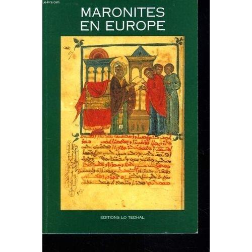 Maronites en Europe