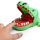 YooGer Lustige Realistische Krokodil Mund Zahnarzt Biss Finger Familie Spiel Kinder Kinder Action Geschick Spiel Spielzeug Weihnachtsgeschenk