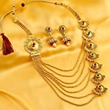 Sukkhi Jewellery Sets for Women (Golden) (N71928GLDPH092017)