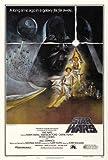 Star Wars: Krieg der Sterne: A (1971) | US Import Filmplakat, Poster [61 x 91,5 cm]