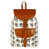 Best Lychees - Lychee Bags Women's Cream, Tan Canvas Kacy Backpack Review