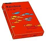 Papyrus 88042478 Druckerpapier Rainbow 80 g/m², A3 500 Blatt intensivrot