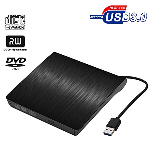 Vkaiy USB 3.0 Ultra Slim Portable Lecteur DVD...