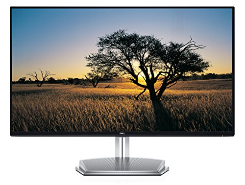 Dell S2718H Full HD (1920 x 1080) 27-inch Monitor, HDMI, VGA, Integrated 12W Speakers, Infinity Edge Design, AMD FreeSync, IPS - Black