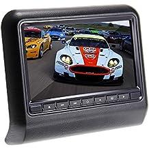 """Lightinthebox@ 9 """" monitor con reproductor de DVD en reposacabezas, negro"""