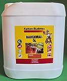 2,5 Liter Farben-Budimex Bangkiraiöl mit UV-Schutz, Farbton naturgetönt / Hergestellt speziell für Holzindustrie