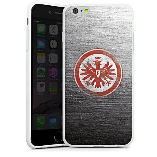 Apple iPhone 6 Hülle Silikon Case Schutz Cover Eintracht Frankfurt Fanartikel Vintage Silikon Case weiß