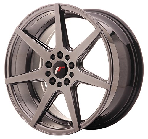 JAPAN Racing JR20 Hiper Black 8.5 x 18 eT35 5 x 100/120 jantes en alliage