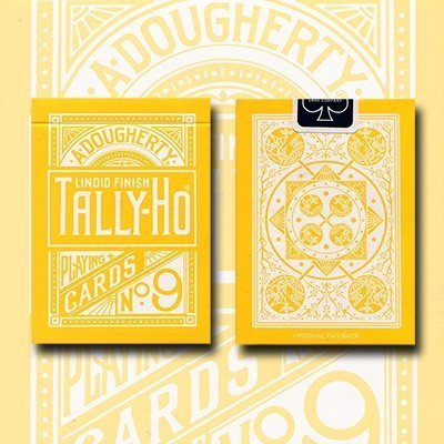 tally-ho-reverse-fan-back-yellow-limited-ed-by-aloy-studios-uspcc-by-tally-ho