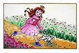 Golze 1873 Pixi - Tappetino per Bambini Annabell, in Due Misure Motivo Bambini 67 x 130 cm Multicolore