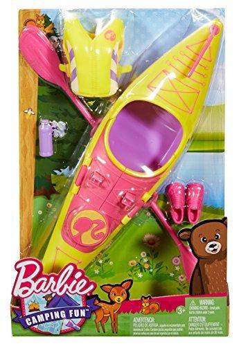 Barbie Camping Fun Kayak Set