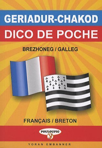 Dictionnaire de poche breton-français/français-breton de Treveur Lezernan (16 juin 2006) Broché